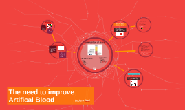 The need to improve Artifical Blood