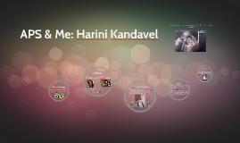 APS & Me: Harini Kandavel