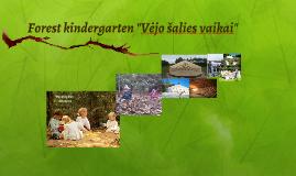 """Forest kindergarten """"Vėjo šalies vaikai"""""""