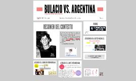 CASO BULACIO VS. ARG