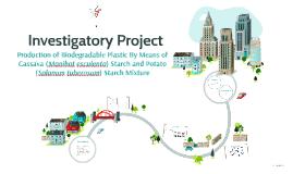 Investigatory Project