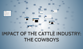 IMPACT OF THE CATTLE INDUSTRY: