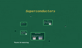 Supperconductors