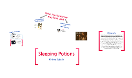 Sleeping Potions -Ancient and Modern
