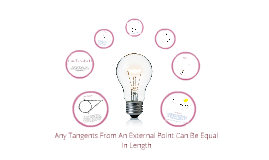 How Many Methods Are There To Prove That Two Tangents From An External Point Are Exactly Equal In Length And What Principles Could Be Applied To Prove Them?