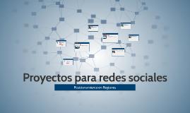 Proyectos para redes sociales