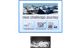 next challenge journey