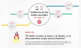 Violencia en las redes sociales