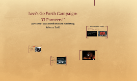 Levi's Go Forth Campaign