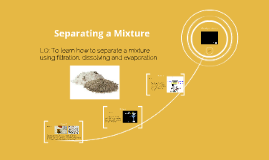Separating a Mixture
