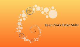 Team York Bake Sale