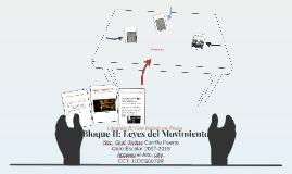 Bloque II: Leyes del Movimiento