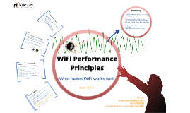 Lesson 1 - WiFi Performance Principles