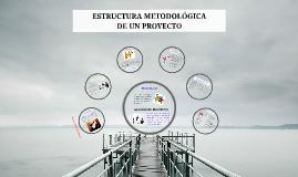 ESTRUCTURA METODOLOGICA PARA REALIZAR UN PROYECTO