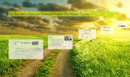 Copy of Le Châtelier's Principle Research Project: The Haber Process