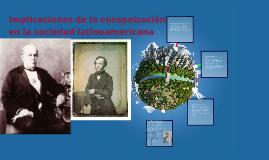 implicaciones de la europeizacion en la sociedad latinoameri