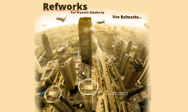 Refworks for Honors Students