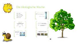 kologische nische by lara bckmann on prezi - Okologische Nische Beispiel