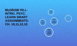 McGRAW HILL-IP- INTRO. McGraw Hill - INTRO.- LEARN SMART