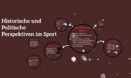 Historische und Politische Perspektiven im Sport