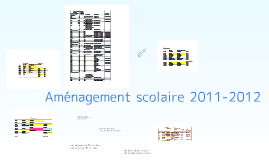 Copy of horaire 2011-2012