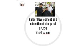 Career Development and educational plan prezi
