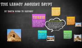 The legacy ancient egypt