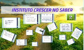 INSTITUTO CRESCER DO SABER