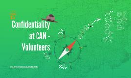 Confidentiality, Volunteers
