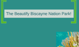 Biscayne Nation Park!