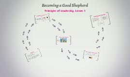 Becoming a Good Shepherd