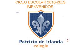 CICLO ESCOLAR 2018-2019