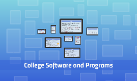 College Software and Programs