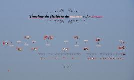 Timeline da História da música e do cinema