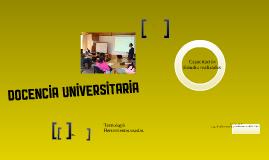 Copy of Docencia universitaria