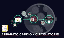 Apparato CARDIO - CIRCOLATORIO MD