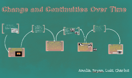 Copy of Change and Continuity Over Time: From the 1920s to the 1930s