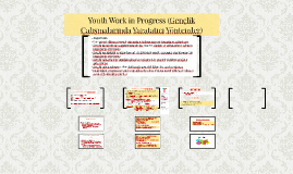 Youth Work in Progress
