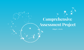 Comprehensive Assessment Project