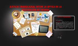 RESTITUCION DE TIERRAS UT