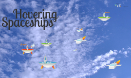 Copy of Free - Hovering Spaceships prezi template