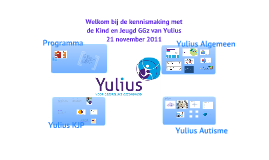 Yulius introductie kind&jeugd GGz