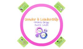 Copy of Gender & Leadership