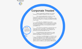 A Corporate Trustee in 401k Administration