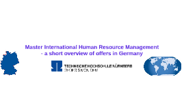 Copy of Master International Human Resource Management - a short ove