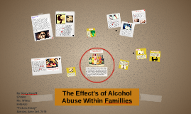 The Effects of Alchol Abuse Within Famillies