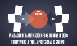 EVALUACIÓN DE LA MOTIVACIÓN DE LOS ALUMNOS DE CICLO FORMATIV