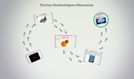 The Grey Checkered Square Phenomenon