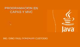 Tema 05 -06 - Programación en CAPAS - MVC