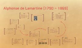 Alphonse de Lamartine [1790 ~ 1869]